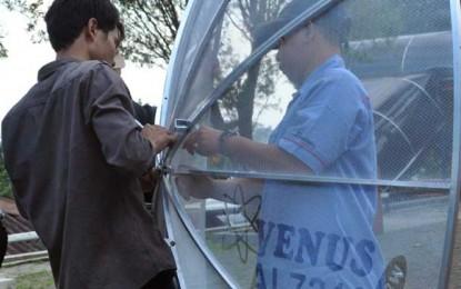 Workshop TV Satelit & Lomba Rakit Antena Parabola Venus di Bandung