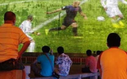 Sepakbola Dunia Mengudara, Jumlah Penonton TV Naik 8%