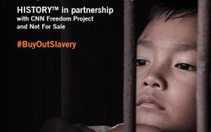 History Asia Dan CNN Internasional Meluncurkan Kampanye Online Tentang Perbudakan Modern