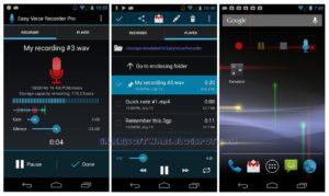 merekam audio dengan perangkat mobile