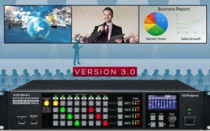 Switcher Roland Seri-XS dan Versi 3.0