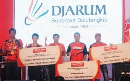 Penghargaan Untuk Tantowi/Liliyana
