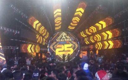 Kilau Raya MNCTV 25 Tampil Megah