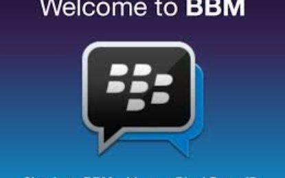 Up grade BlackBerry Messenger Versi Terbaru