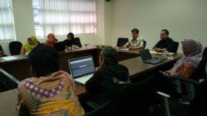 Suasana rapat koordinasi KPI dan Kominfo di Ciputat. dok. kpi.go.id
