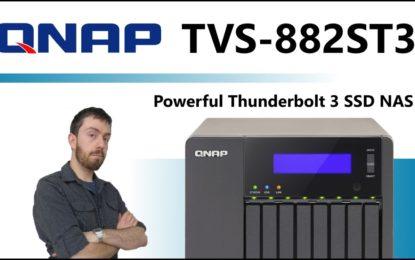 Server  NAS QNAP TVS-882ST3 THUNDERBOLT 3