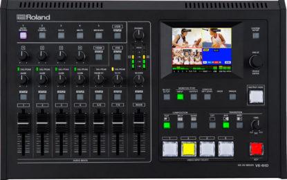 Mixer AV HD Roland VR-4HD