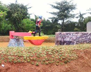 Takeshi's Castle Indonesia di MNCTV. Dok. mnctv.com