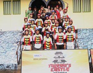 Puluhan Jurnalis Menjadi Peserta Takeshi's Castle Indonesia. Dok.MNCTV