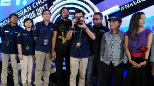 Presscon NET. 4.0 Presents Indonesian Choice Awards 2017. dok. s.wildansyah