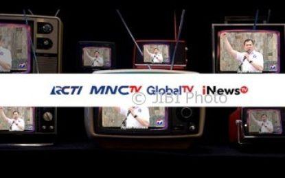 Siarkan Iklan Partai Perindo, KPI Jatuhkan Sanksi Pada RCTI, Global TV, MNC TV dan iNews TV