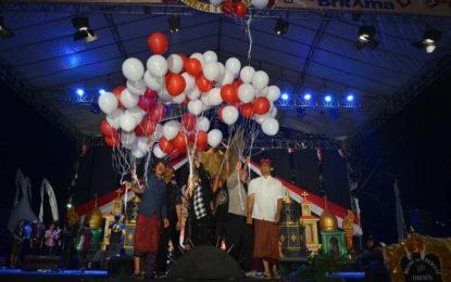 Britama Sanur Village Festival 2017 Ditutup, 1.000 Peserta Ikuti Parade Budaya