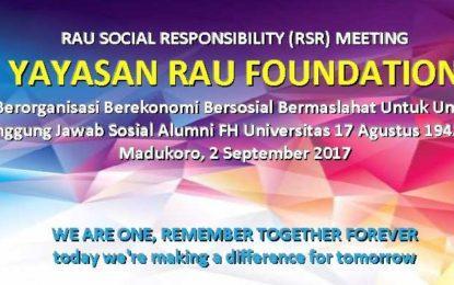 Yayasan RAU Foundation Selenggarakan RAU 3 in 1 EVENT