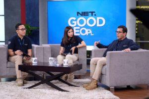 Foto Launching NET Good People. Doc Public Relation Net.tv