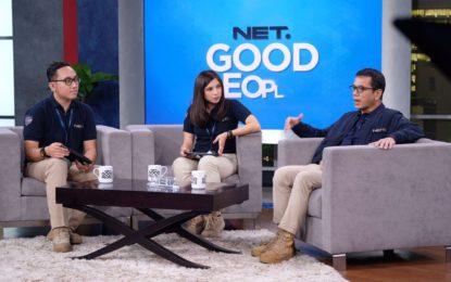 Menyasar Anak Muda, NET.TV Launching Komunitas 'NET. GOOD PEOPLE'