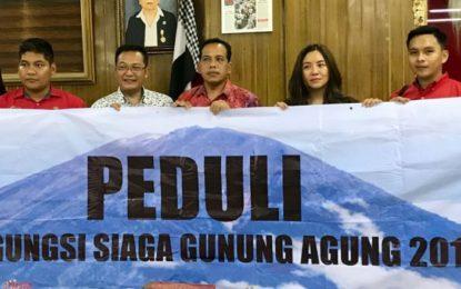 PEDULI PENGUNGSI SIAGA GUNUNG AGUNG 2017 MELALUI SINGA MAS INDONESIA