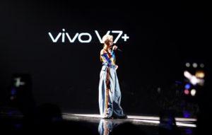 Photo Caption 3 - Vivo V7+ Perfect Moment Grand Launch (28 September 2017).