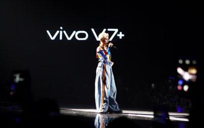 Vivo Smartphone meluncurkan Vivo V7+