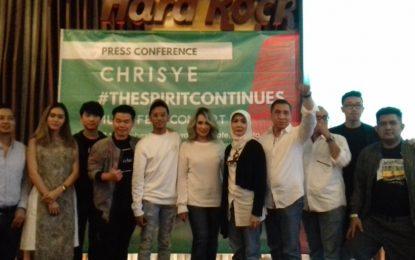 Membangkitkan Kembali Semangat Sang Maestro Chrisye Dalam Konser Musik Bertajuk 'Chrisye The  Spirit Continues Music Fest Concert