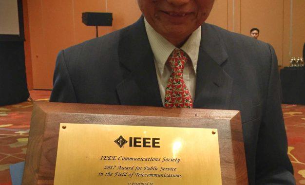 Tokoh Senior ICT Indonesia Memperoleh Award International Bidang Telekomunikasi