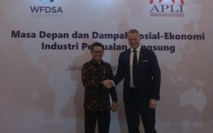 INDUSTRI PENJUALAN LANGSUNG DI INDONESIA MENGALAMI PERTUMBUHAN POSITIF SETIAP TAHUN