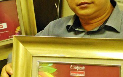 Polytron Raih Dua Penghargaan untuk Refrigerator dan Televisi
