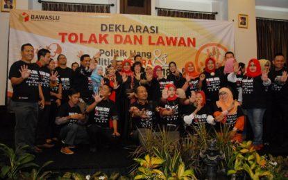 KPI Dukung Deklarasi Tolak dan Lawan Politik Uang serta Politisasi SARA di Pemilukada 2018