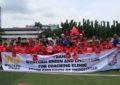 Western Union Bersama Pelatih Liverpool Melatih Anak Indonesia Sepak Bola pada Sesi Coaching Clinic dalam LFC World 2018