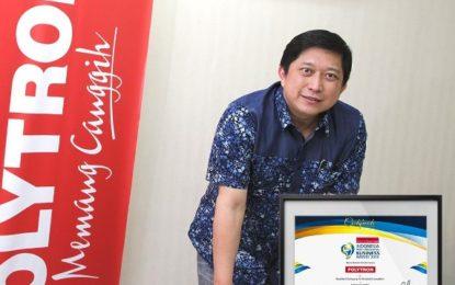 Polytron Raih Anugerah Indonesia Most Innovative Business Award 2018