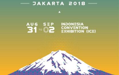 C3AFAJKT 2018 Siap Digelar 31 Agustus hingga 2 September 2018