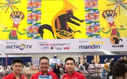 Singa Mas Indonesia  Turut Meningkatkan Minat Baca Melalui Big Bad Wolf 2018