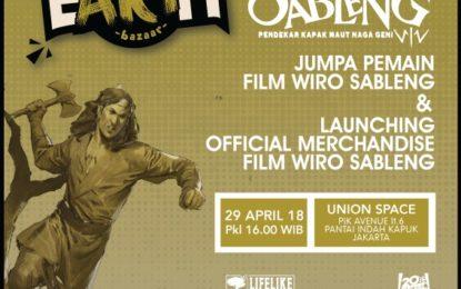 OFFICIAL MERCHANDISE FILM WIRO SABLENG SUDAH BISA DIBELI DI TOKOME.ID