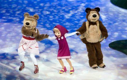 Masha And The Bear On Ice Akan Berkunjung Menghibur Penggemar Di Indonesia