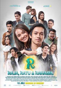 POSTER film R - Raja, Ratu & Rahasia ver. 2