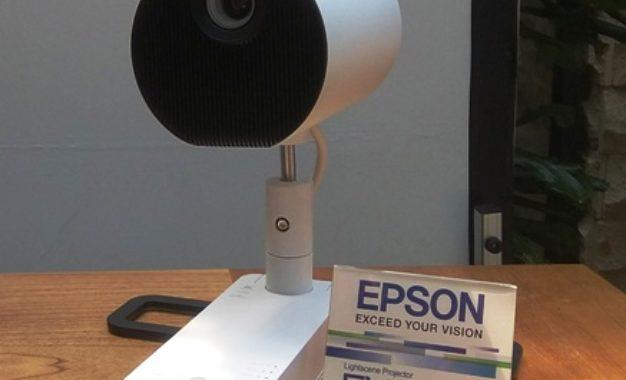 Proyektor Epson LightScene EV-100/105 Dirilis