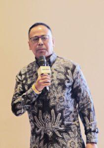 Direktur Utama PermataBank, Bapak Ridha DM Wirakusumah