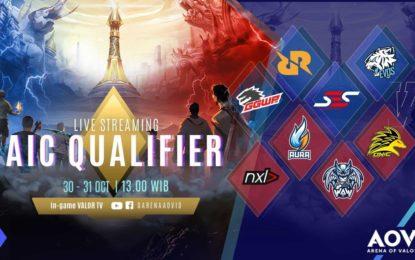 Saksikan 8 Tim AOV Memperebutkan Gelar Tim Nasional Di AIC Qualifier 2018