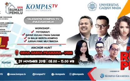 Dukung Pemilu 2019, Harian Kompas, Kompas.com, KompasTV, dan Harian Kontan Gelar Tur Festival Rumah Pemilu