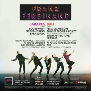 Franz Ferdinand Square JKT BALI