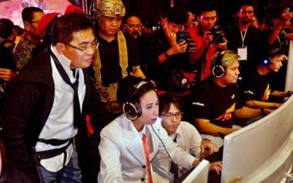 Menteri BUMN Rini M. Soemarno Turut Kembangkan  Industri Games Untuk Milenial Indonesia
