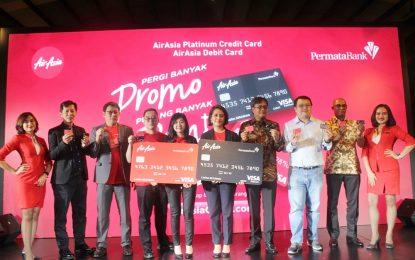 AirAsia Debit Card & AirAsia Platinum Credit Card dari PermataBank