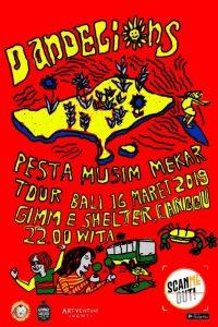 POSTER TOUR BALI DANDELIONS (UTAMA)