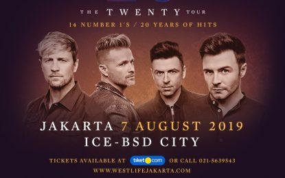 Tiket konser 'The Twenty Tour' Indonesia 2019 Westlife SOLD OUT hanya dalam 2 Jam!