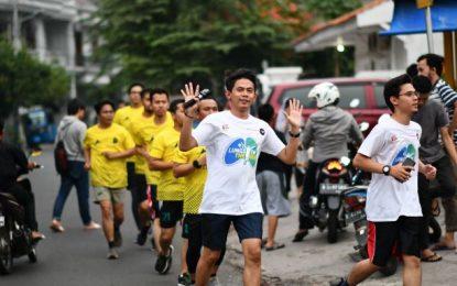 Pelari Indonesia Bersatu Mendukung Hari Tanpa Tembakau Sedunia