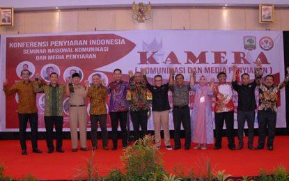 KPI dan Universitas Andalas Gelar Konferensi Penyiaran Pertama di Indonesia