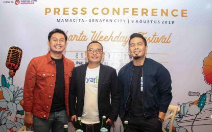 Jakarta Weekday Fest Hadirkan Artis Nasional & Mancanegara