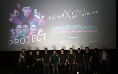 """Satu Dekade Berlian Entertainment Menghadirkan NOAH x YOVIE AND HIS FRIENDS dalam """"Project X"""""""