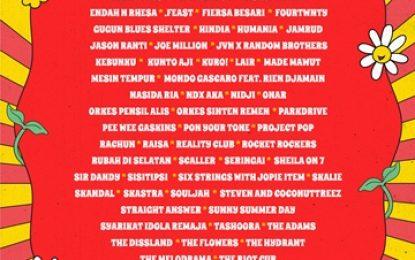 Inilah 77 Artis Fase ke-4 SYNCHRONIZE FEST