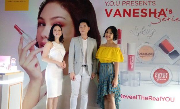 Untuk Wanita Aktif, Y.O.U Makeups Mempersembahkan Vanesha's Series