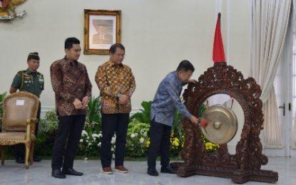 Wakil Presiden Republik Indonesia Jusuf Kalla Buka Rapim KPI 2019